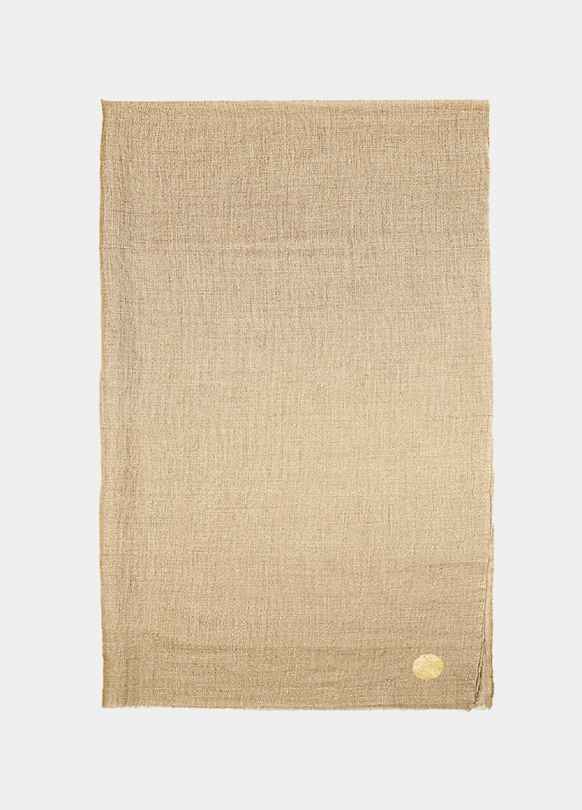 The Gold Cashmere Stole
