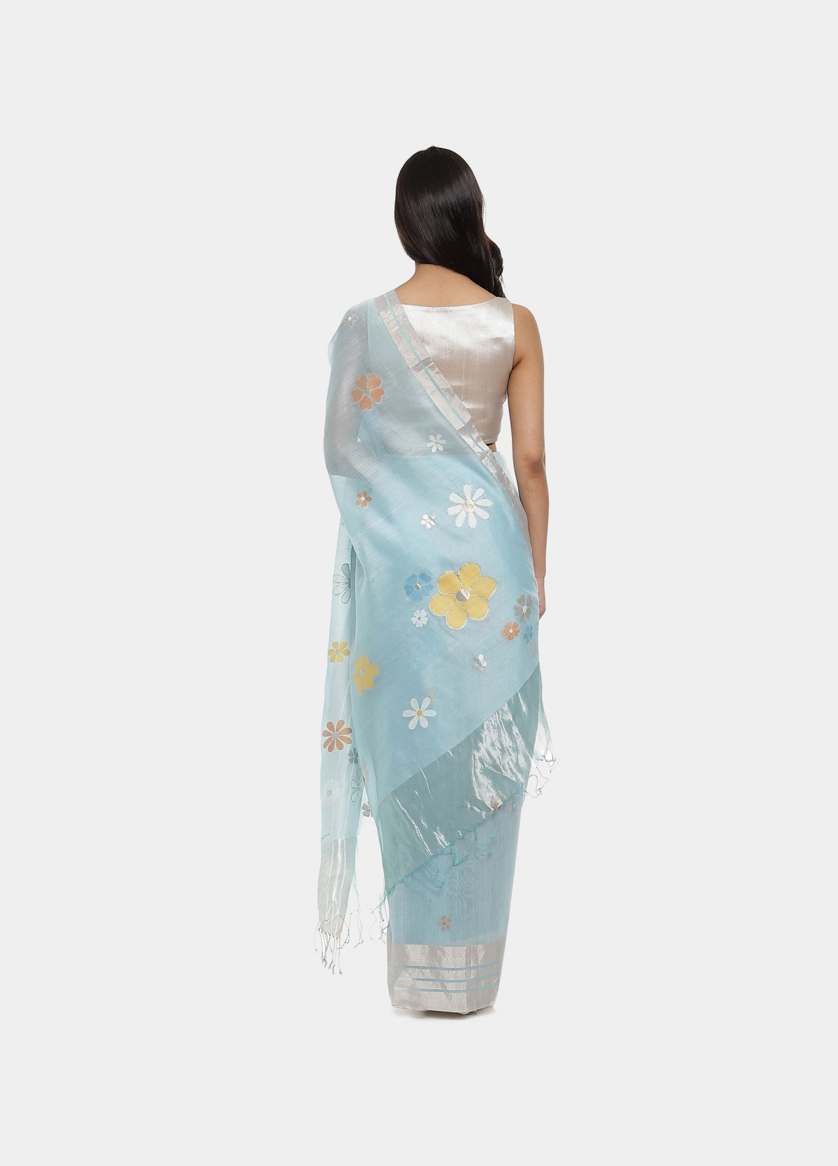 The Noorie Jamdani Sari