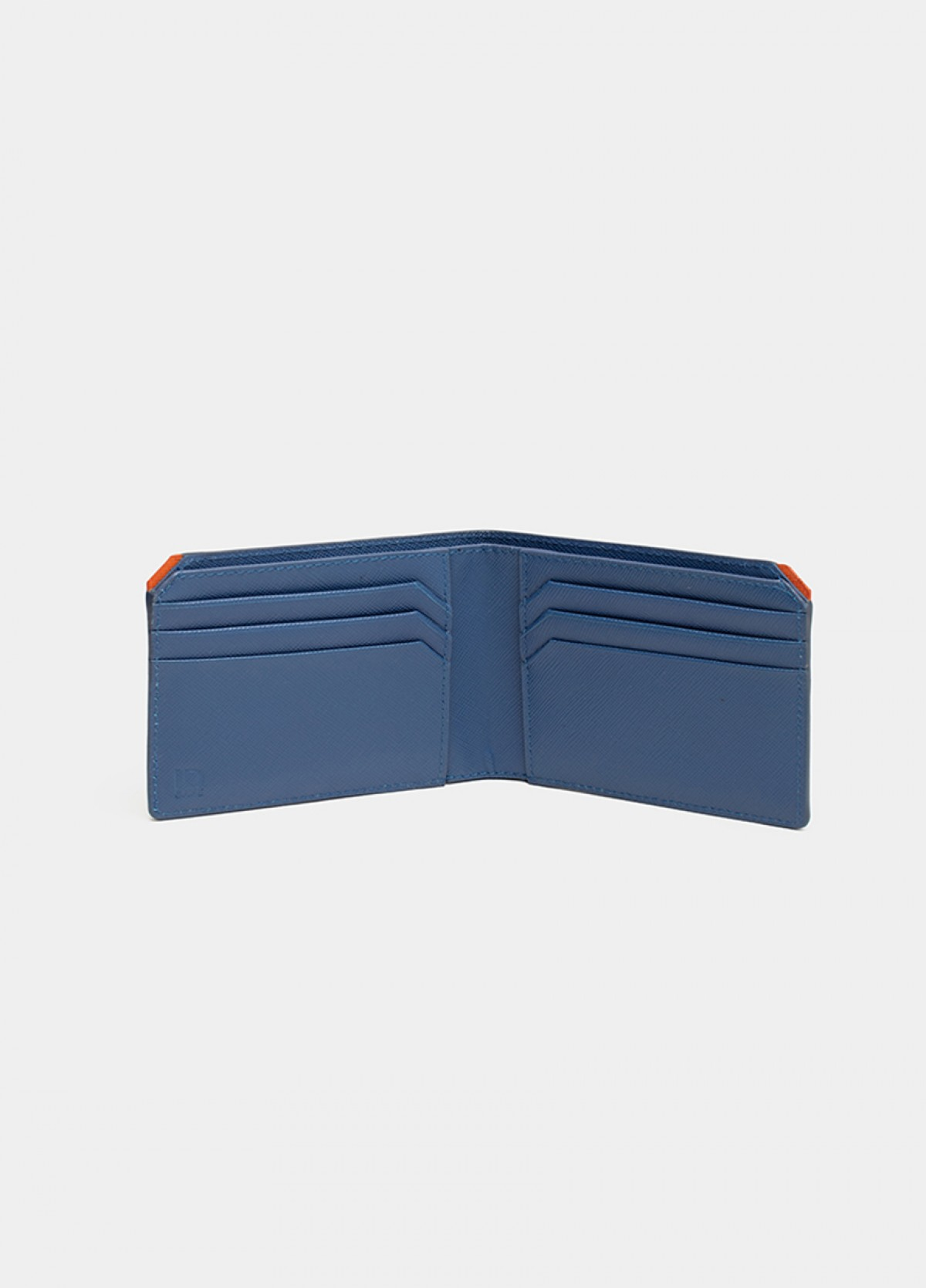 The Blue Leather Wallet