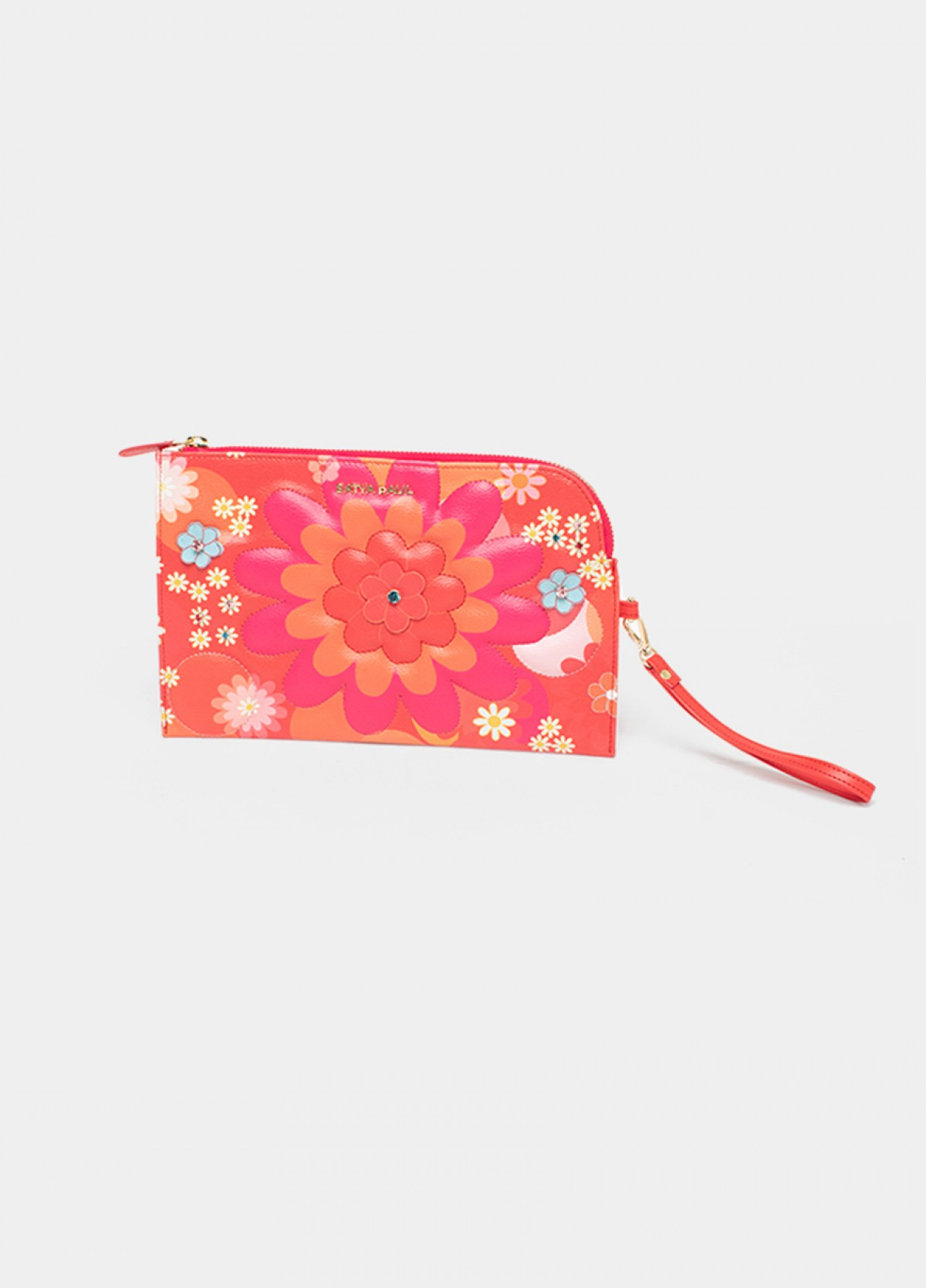 The Valley of Flowers Pouch