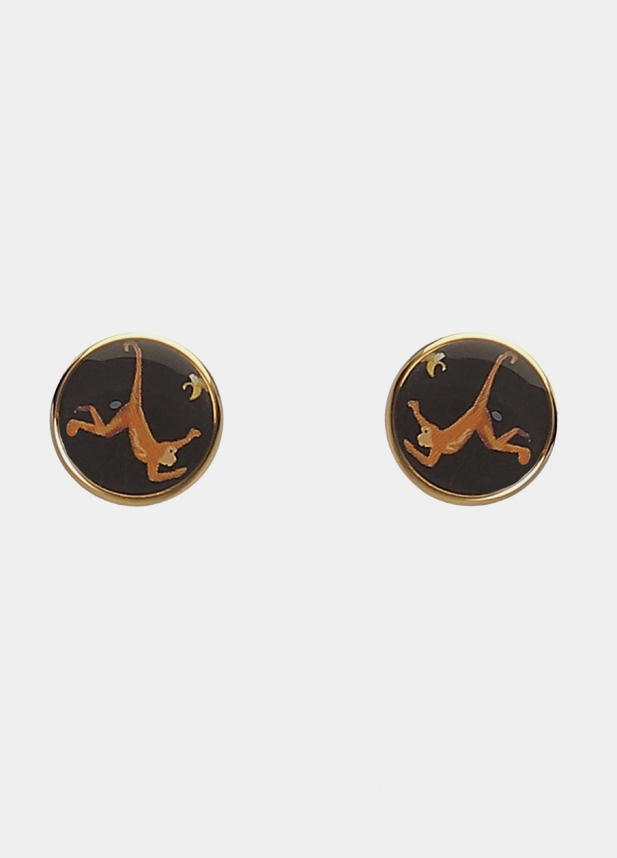 Black Metal Cufflinks