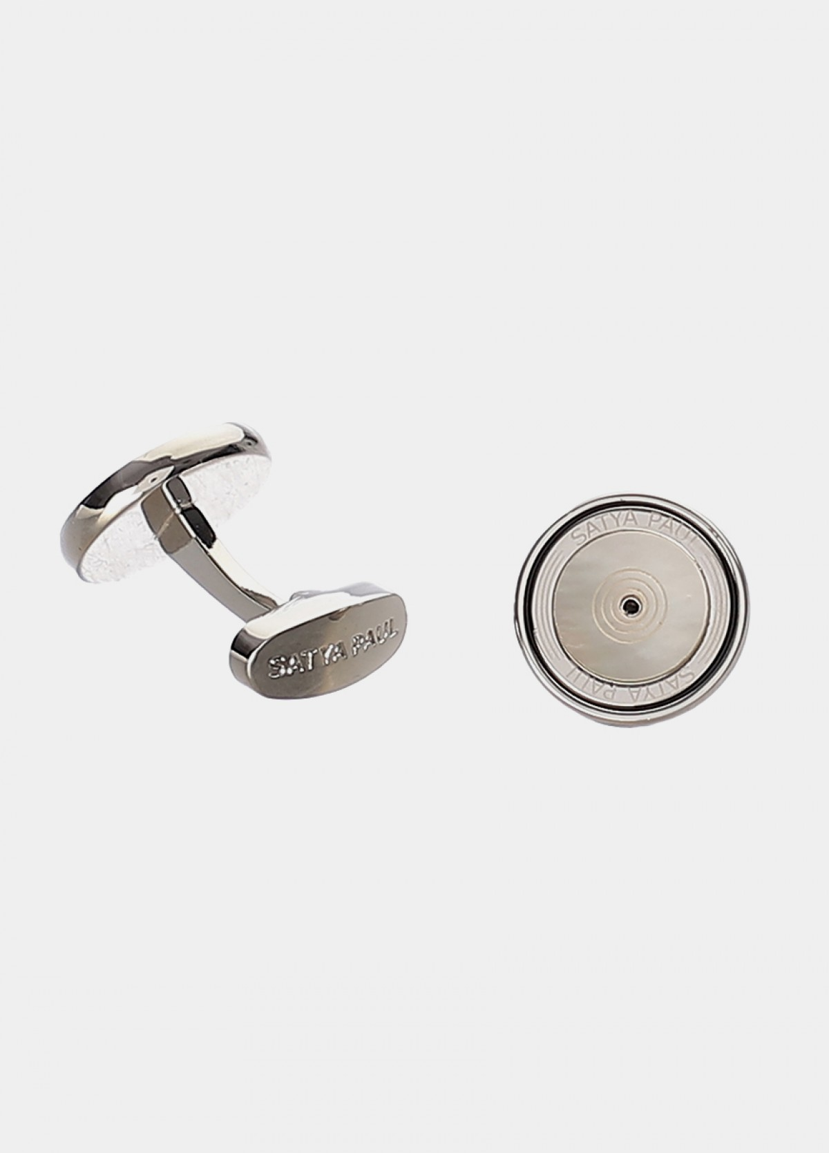 White Metal Cufflinks