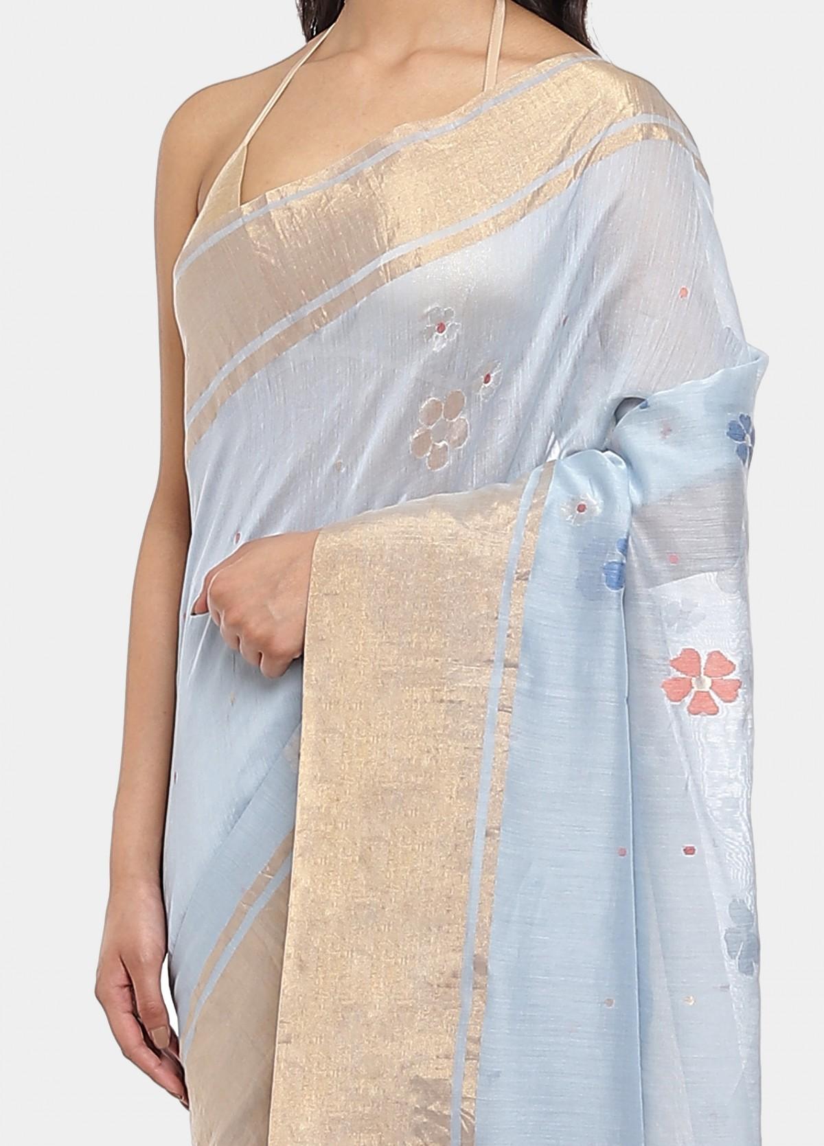 The Mili Jamdani Sari