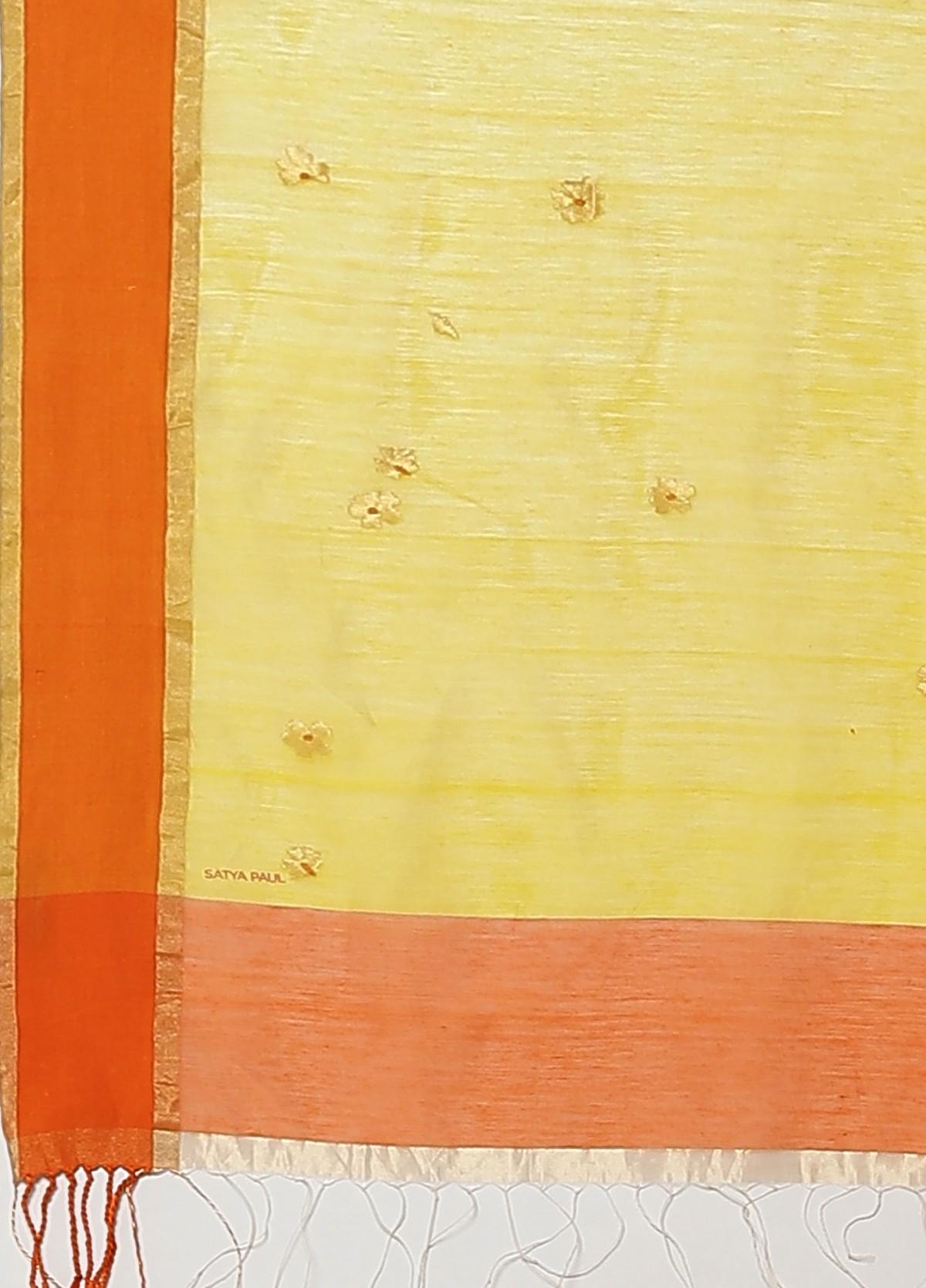 The Parijaat Jamdani Sari