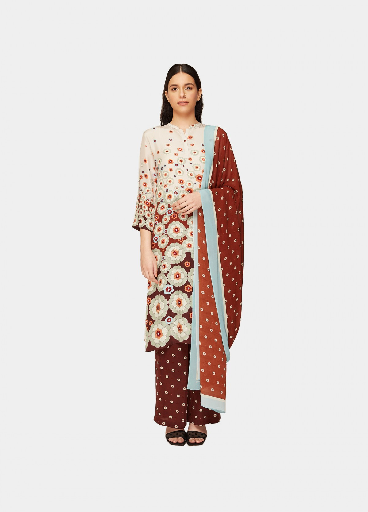 The Valley Of Flowers Kurta Set