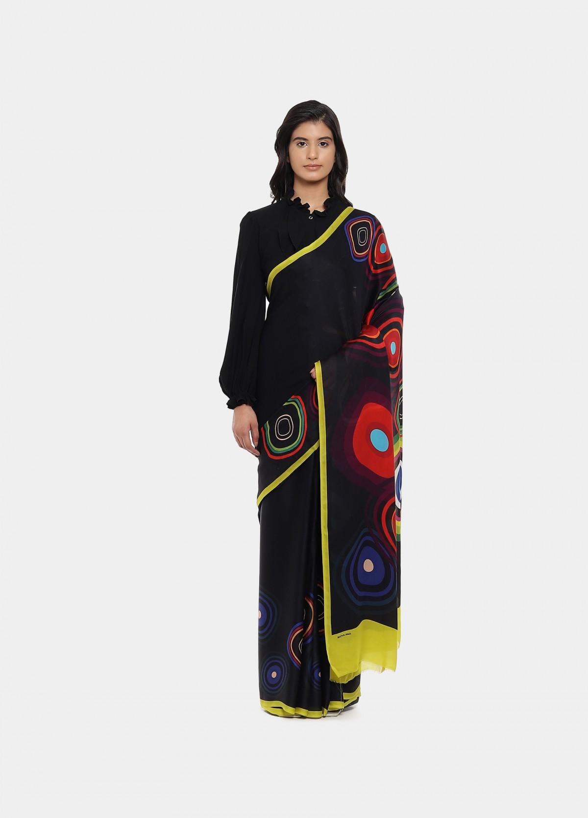 The Cosmic Lover Sari