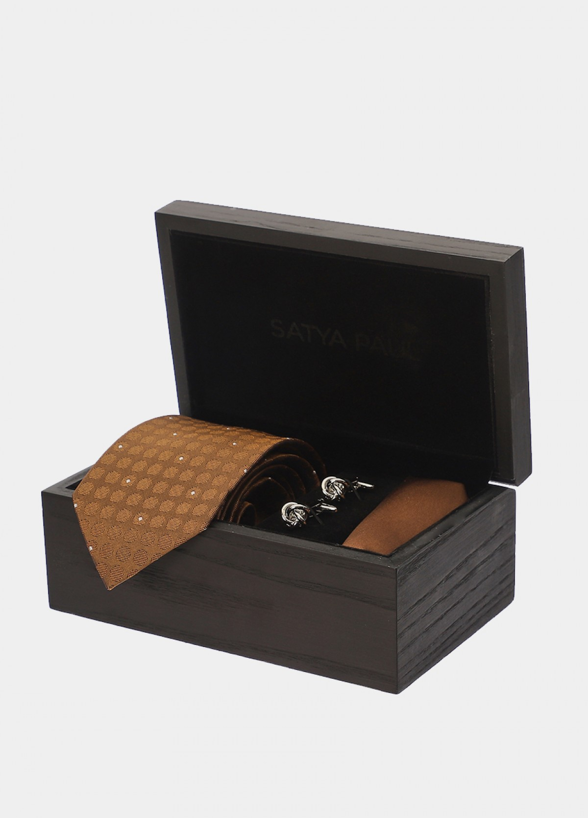 Tie, Pocket Square & Cufflink Gift Set