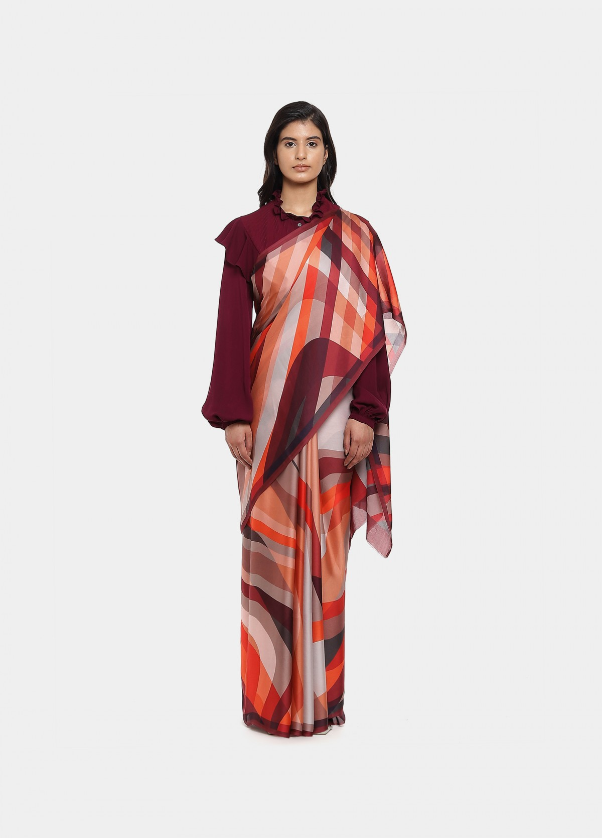 The Heat Waves Sari