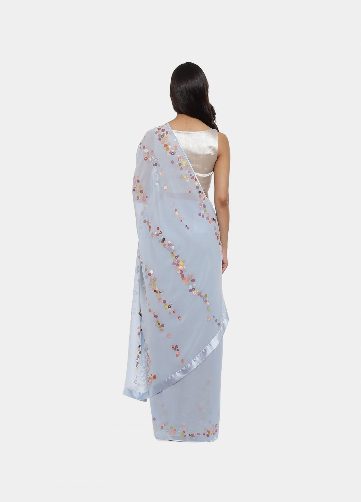 The Iridescent Sari