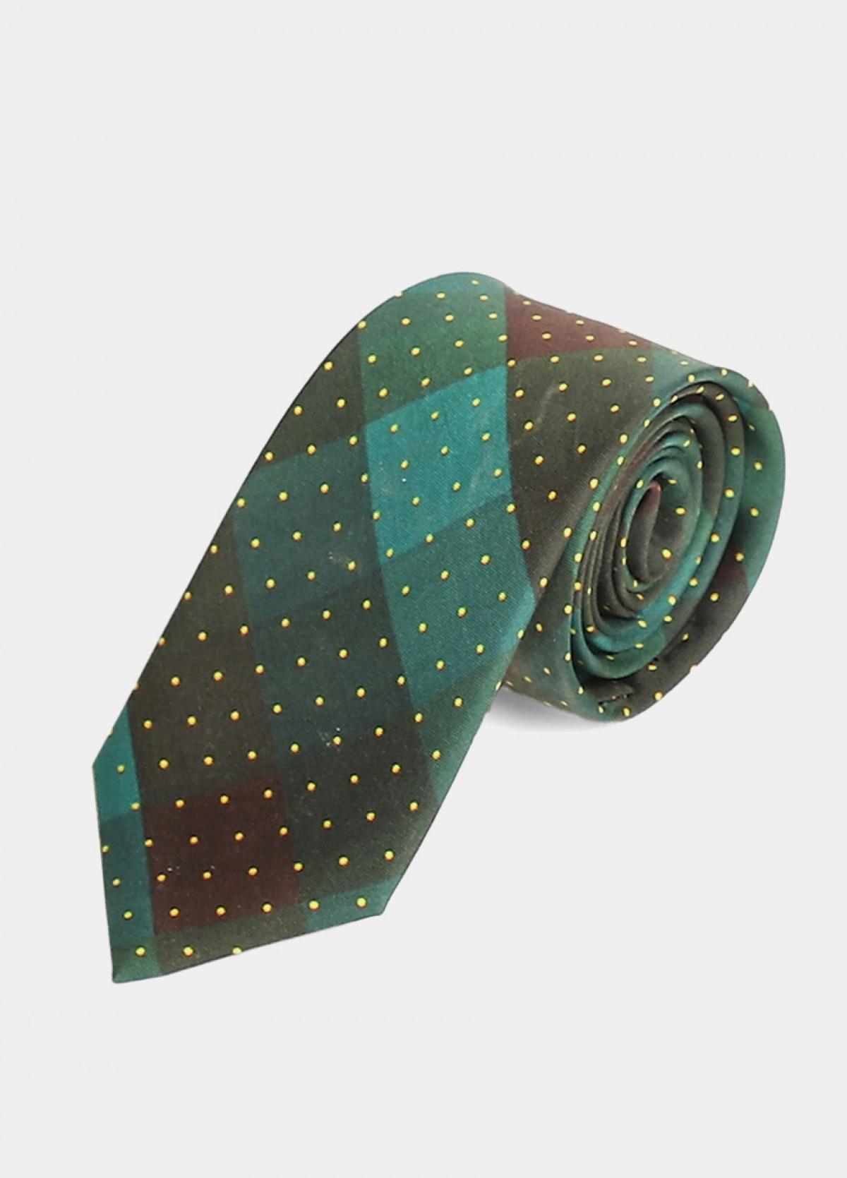 The Checkerd Tie