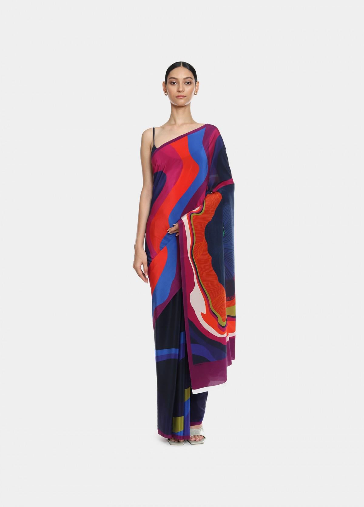 The Stayin' Alive Sari